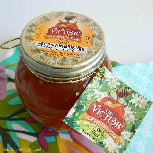 Don Victor Pure Honey with Comb 16 oz (454g)