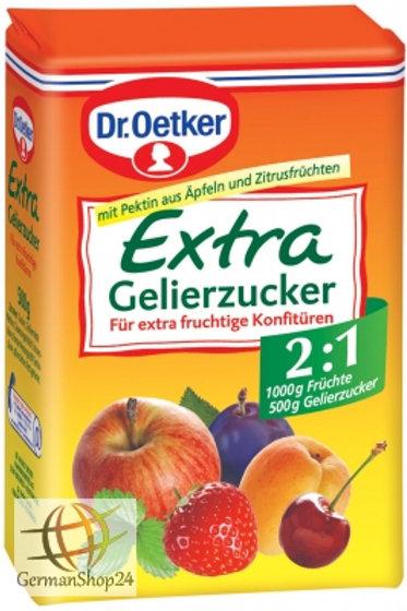 Dr. Oetker Extra Gelling Sugar 2 in 1 (Extra Gelierzucker) - 17.6 oz (500g)