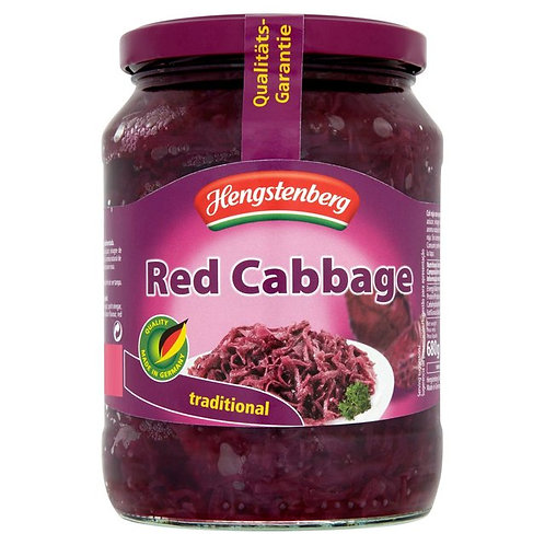 Hengstenberg Red Cabbage Jar 24 oz (680g)