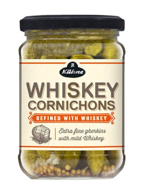 Kühne Whiskey Cornichons Jar 12.5 oz