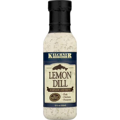 Kelchner's Lemon Dill Marinade Sauce 12 oz