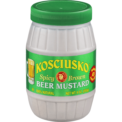 Plochman's Kosciusko Spicy Brown Beer Mustard, 9 oz (255 g)
