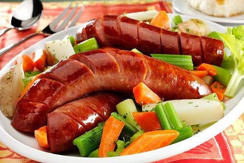 Smoked Polish Kielbasa Sausage (Kielbasa Polska Zwyczajna) (1.8 lbs)