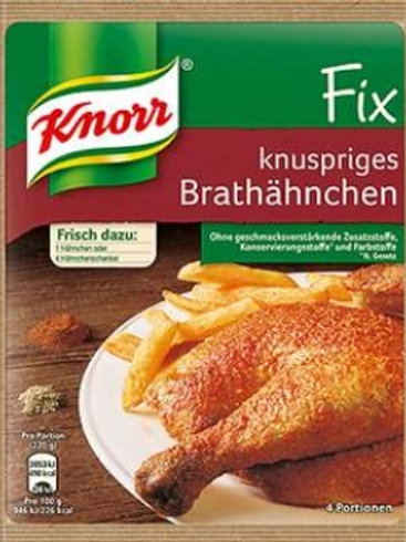Knorr Fix Für Knuspriges Brathahnchen (Crispy Fried Chicken) Mix 1.1 oz (32g)