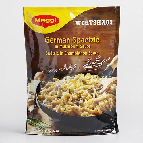 Maggi German Spaetzle in Mushroom Sauce 4.34 oz (123g)