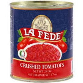 La Fede Crushed Tomatoes Can 28 oz (794g)