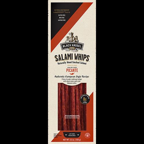 Black Kassel Picante Salami Whips 3.5 oz (100g)