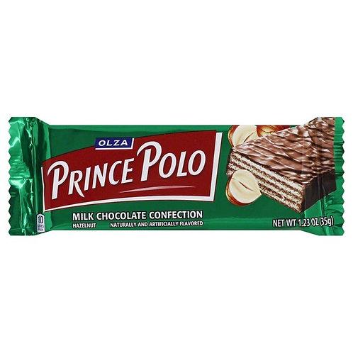 Olza Prince Polo Hazelnut Milk Chocolate Wafer (Wafelek) 1.2 oz (35g)