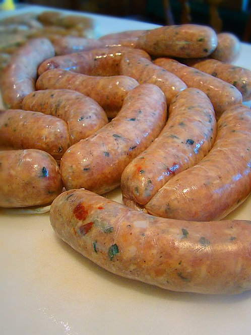 All-Natural Sun Dried Tomato & Basil Chicken Sausage Package 12 oz (340g)