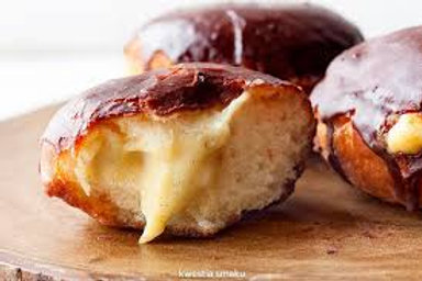 Artisan Polish Pączki (Doughnuts) - Boston Cream