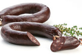 Portuguese Blood Pudding (Sausage) Morcela