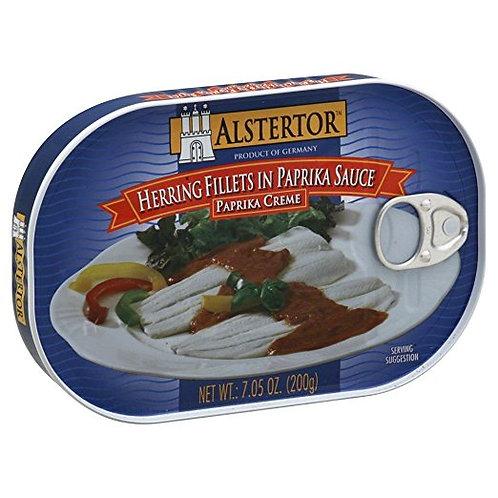 Alstertor Herring Fillets in Paprika Sauce 7.05 oz (200g)