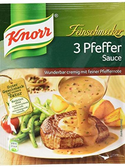 Knorr Feinschmecker 3 Pfeffer (Pepper) Sauce 1.4 oz (40g)
