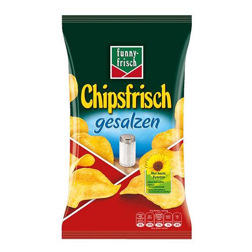 Funny Frisch Salted Potato Chips (Chipsfrisch Gesalzen) 6.2 oz (175g)