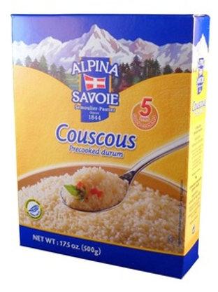 Alpina Savoie Precooked Couscous Medium Box 17.6 oz (500g)