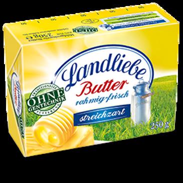 Landliebe Butter Rahmig-Frisch 8.8 oz (250g)