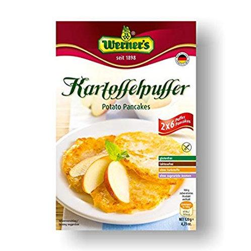 Werner's Potato Pancakes (Kartoffelpuffer) 4.2 oz (120g)