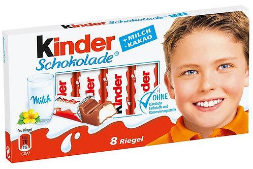 Ferrero Kinder Chocolate Sticks 3.5 oz (100g)
