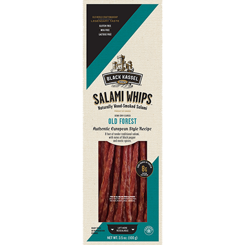 Black Kassel Old Forest Salami Whips 3.5 oz (100g)
