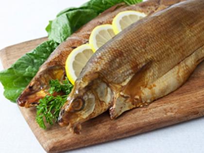 Hot Smoked White Fish (Whitefish) 2 lbs