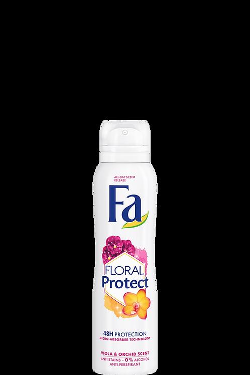 Fa Floral Protect Orchid & Viola Scents Anti-Perspirant Spray 5.1 oz (150ml)