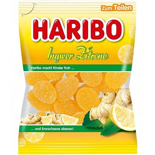 German Haribo Ginger and Lemon (Ingwer-Zitrone) 7 oz (200g)