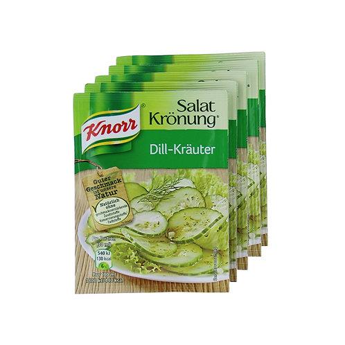 Knorr Salat Krönung Dill Kräuter (Dill Herb) Salad Mix 0.3 oz (9g)