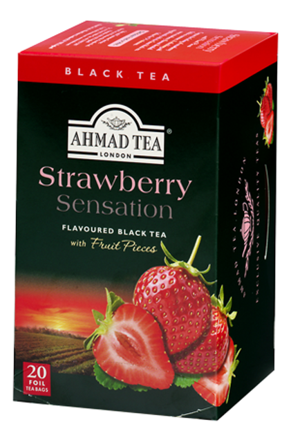 Ahmad Tea Strawberry Sensation 1.4 oz (40g)