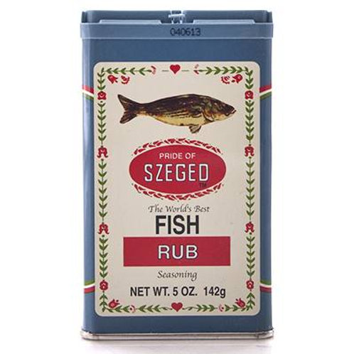 Pride of Szeged Fisch Gewürz (Fish Rub Seasoning) 5 oz (142g)