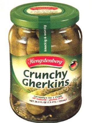 Hengstenberg KNAX Crunchy Gherkins Jar 24.3 oz (720g)