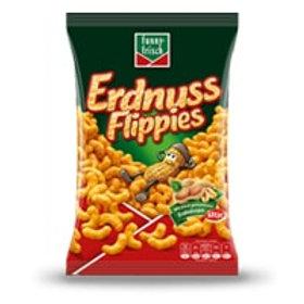 Funny Frisch Peanut Flavored Puffs (Erdnuss Flippies) 8.8 oz (250g)