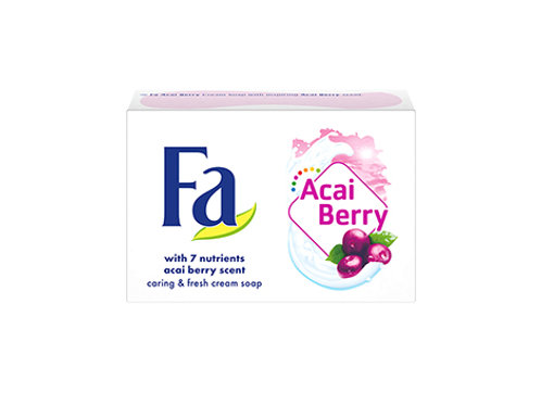 Fa Nutri Skin Acai Berry Scent Moisturizing Soap Bar 3.5 oz (100g)