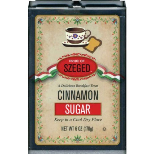 Pride of Szeged Cinnamon Sugar 6 oz (170g)