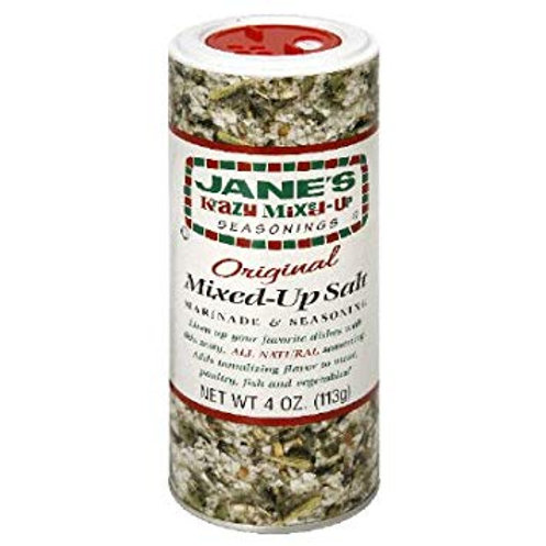 Jane's Krazy Mixed-Up Salt Canister 4 oz (113g)