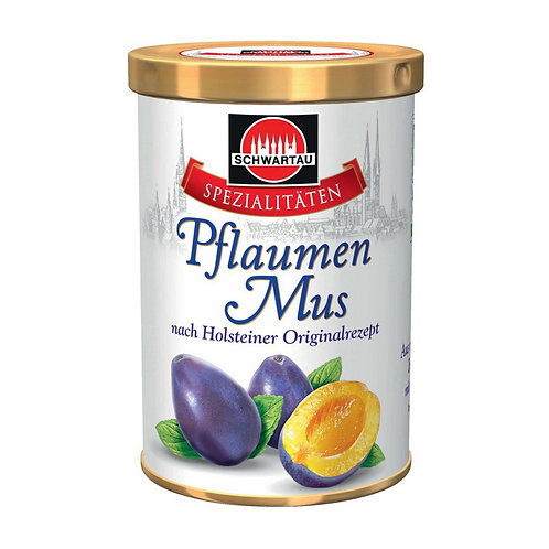 Schwartau Pflaumenmus (Plum Butter)  12.3 oz (350g)