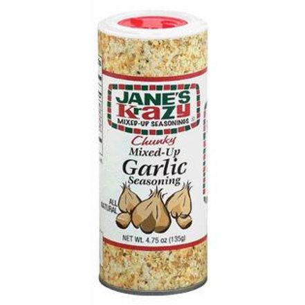 Jane's Krazy Mixed-Up Chunky Garlic 4.75 oz (135g)