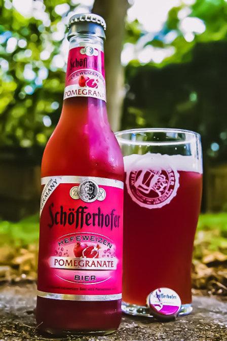 Schöfferhofer Pomegranate Beer Bottle 11.2 oz