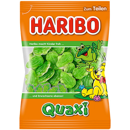 German Haribo Quaxi Fröschli (Gummy Frogs) 7 oz (200g)
