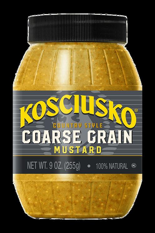 Plochman's Kosciusko Coarse Grain Mustard, 9 oz (255 g)