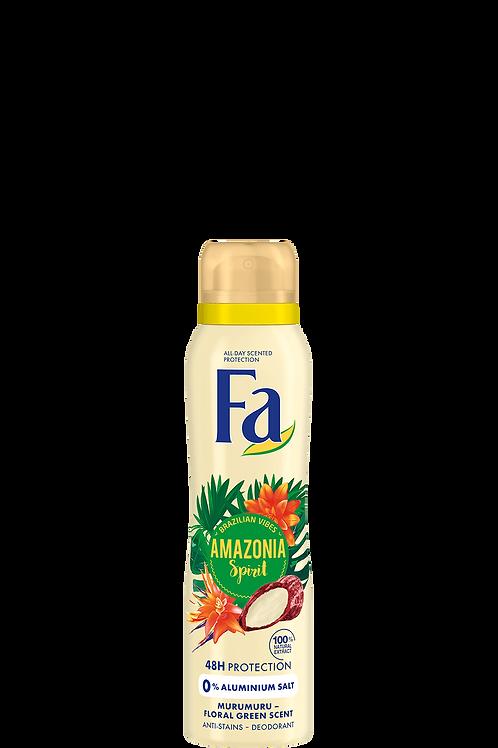 Fa Amazonia Spirit Deodorant Spray 5.1 oz (150ml)