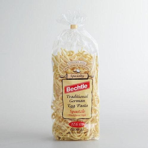 Bechtle Traditional German Egg Pasta Spaetzle Bavarian Style 17.6 oz (500g)