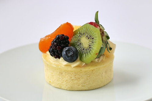 Mixed Fruit Cheesecake Pastry
