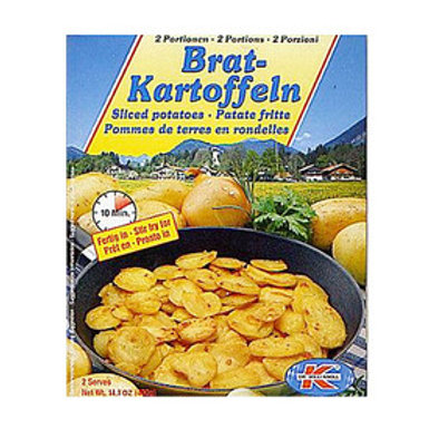Dr. Willi Knoll Brat-Kartoffeln (Sliced Potatoes) 14.1 oz (400g)