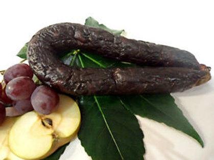 Portuguese Chouriço Mouro Blood Sausage Ring