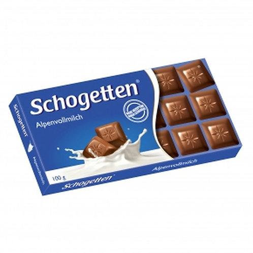Schogetten Alpenvollmilch (Alpine Milk Chocolate) 3.5 oz (100g)