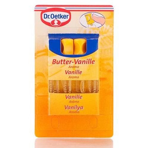 Dr. Oetker Butter-Vanille Aroma 4-Pack (Vanilla Flavoring) 0.27 oz