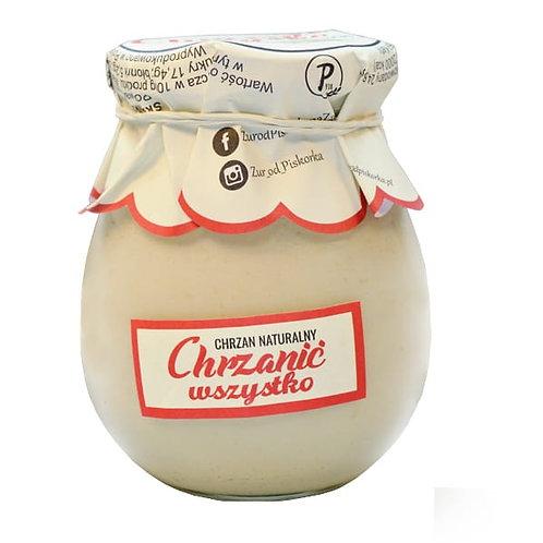 Piskorek Natural Horseradish ( Chrzan Naturalny Chrzanić Wszystko) 8.1 oz (230g)