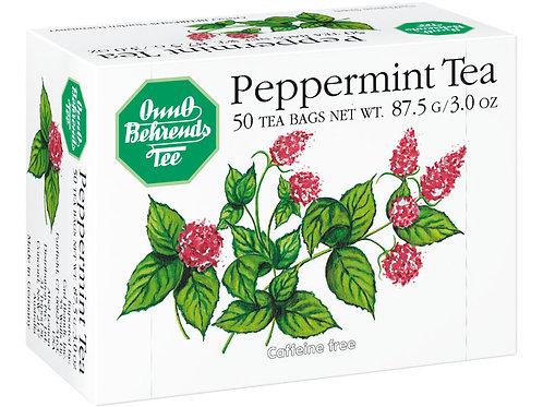 Onno Behrends Peppermint Tea (50 bags) 3 oz (87.5g)