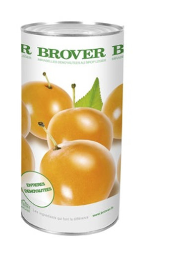 Brover Mirabelle Plums in Light Syrup 57 oz (1.62kg)