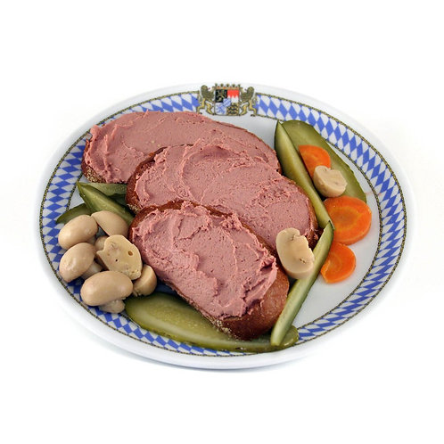 German Hildesheimer Pork Liverwurst Spread (0.5 pounds)